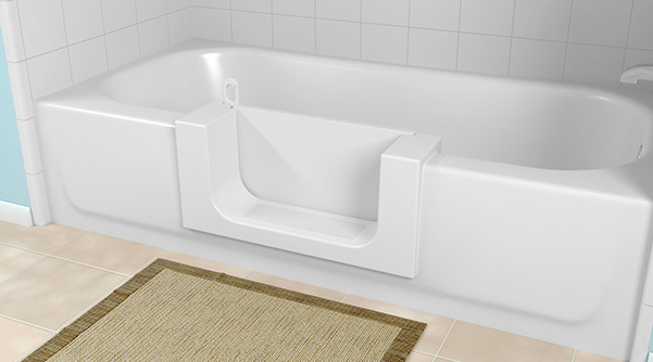 Great 29 Inch White Bathroom Vanity Tall Bathroom Vanities Toronto Canada Solid Silkroad Exclusive Pomona 72 Inch Double Sink Bathroom Vanity Lowes Bathroom Vanity Tops Youthful Memento Bathroom Scene BrownReplace Bathtub Shower Doors Home | Products | CleanCut: Walk In Tubs, Tub Conversion